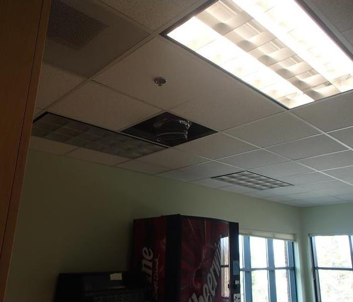 Water Damage at Henderson County Business  After